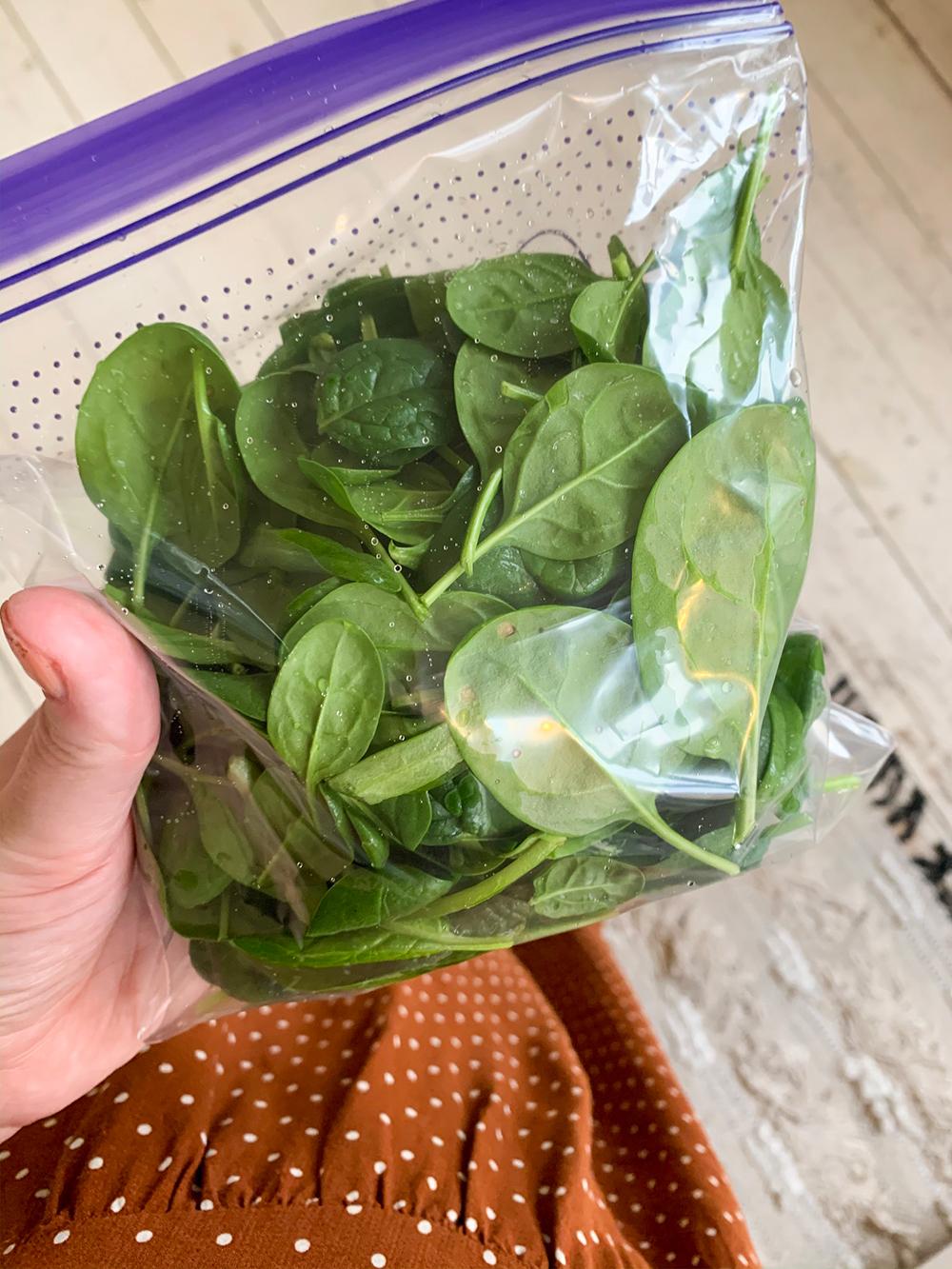 food prepping grøntsager
