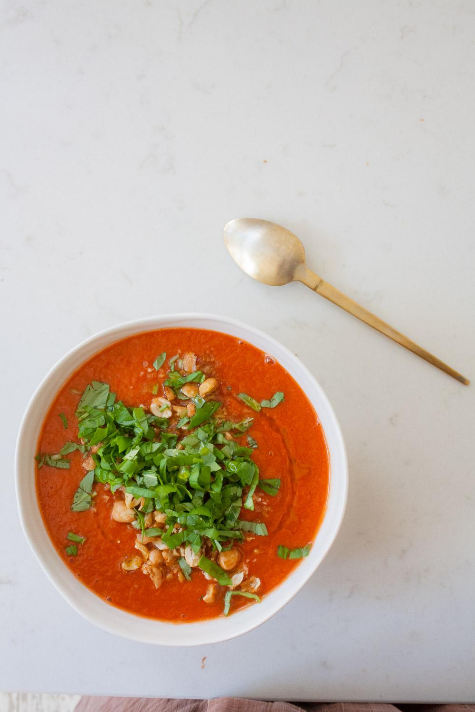 nem hverdags tomatsuppe opskrift