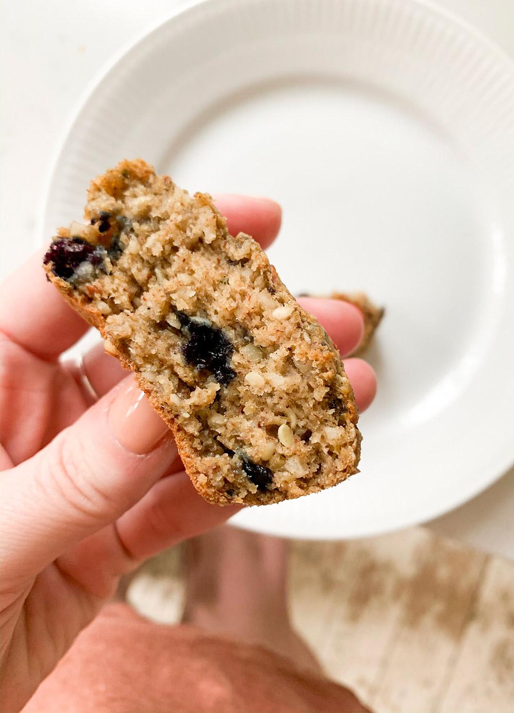 veganske morgenmadsmuffins opskrift