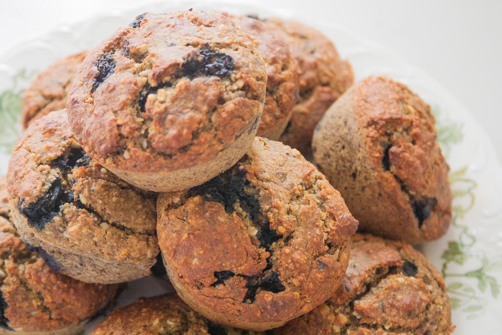 opskrift veganske morgenmadsmuffins