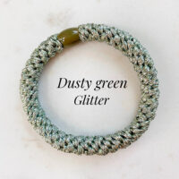 Kknekki dusty green glitter