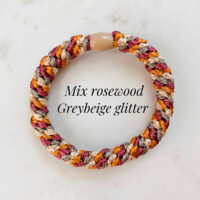 Kknekki mix rosewood greybeige glitter