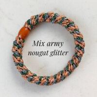 kknekki mix army nougat glitter