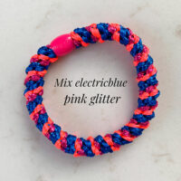 kknekki mix electricblue pink glitter
