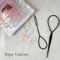 Topsy tail unicorn elastikker