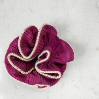 Lilje scrunchie-bordeaux
