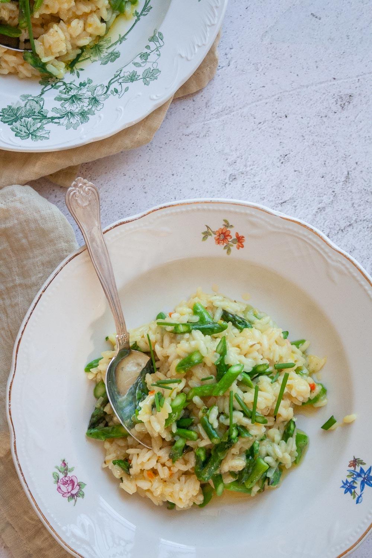 Opskrift risotto asparges citron